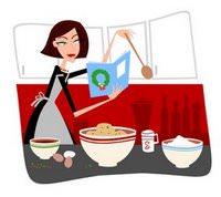 אמא מבשלת