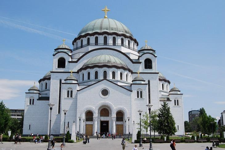 אתרים בבלגרד: כנסיית סאבה הקדוש