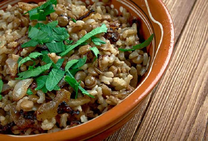 דיאטת דש ומתכונים: אורז מלא בניחוח מיוחד