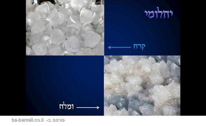 קרח או מלח? נסו לפצח!