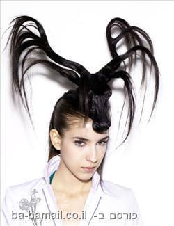 קרניים בשיער