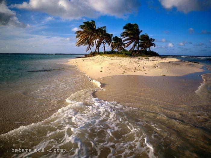 האיים הקאריביים - גן עדן עלי אדמות