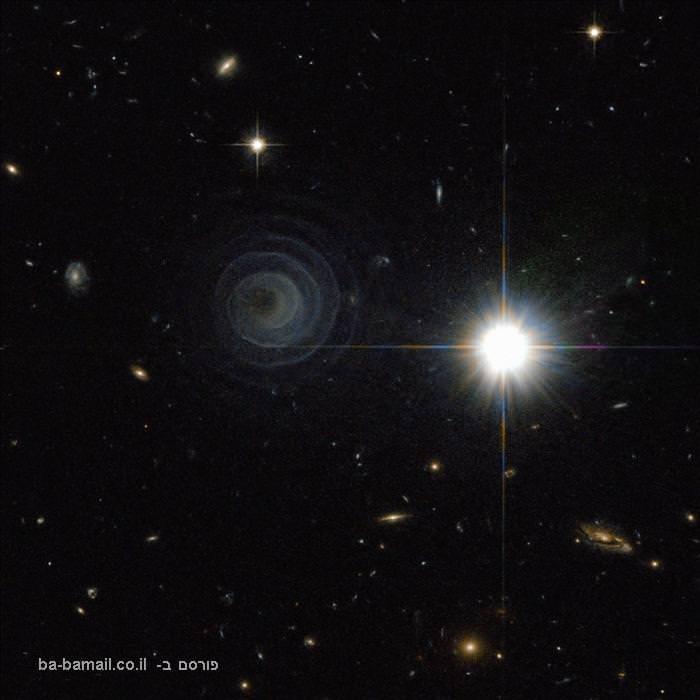 ספירלה מדהימה ומדוייקת בחלל