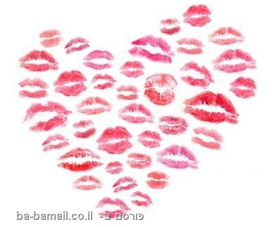 נשיקות בצורת לב