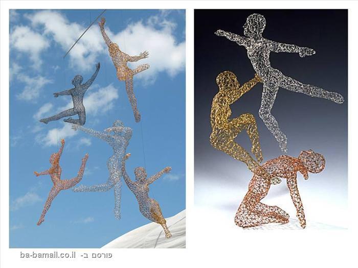 אומנות מדהימה של פסלים צבעוניים מהעולם
