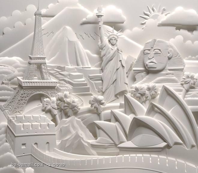 פסלים, נייר, אומנות, עיצוב, תמונה