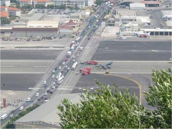 מטוס, שדה תעופה, גיבלטר, מסוכן, לא ייאמן