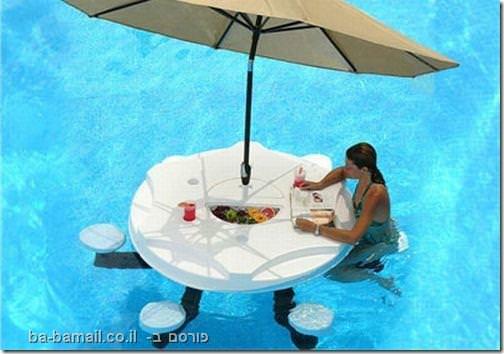 אירוח, בריכה, קיץ, בגד ים, תמונה