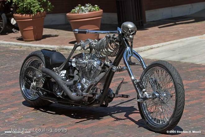 אופנוע, רכב, שלד, תמונה, מגניב