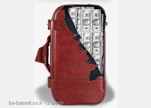 """סטיקר, מזוודה, עיצוב, חו""""ל, מצחיק, תמונה"""