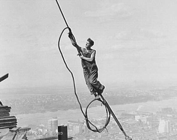 צילום, לואיס היין, אמפייר סטייט בילדינג, ניו-יורק, שנות ה-20