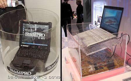 מחשב נייד עמיד למים