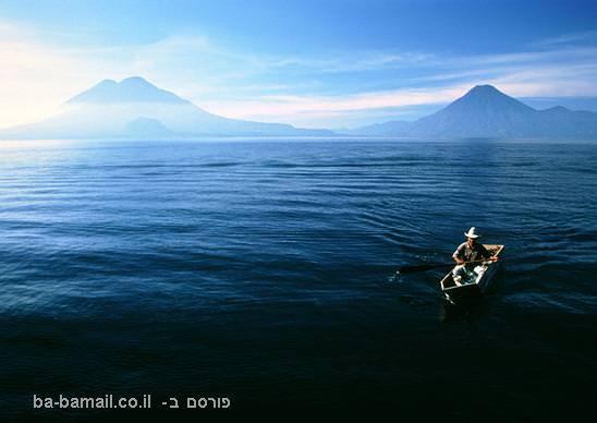 אגם, אגם אטיטלאן, גוואטאמלה, הרים