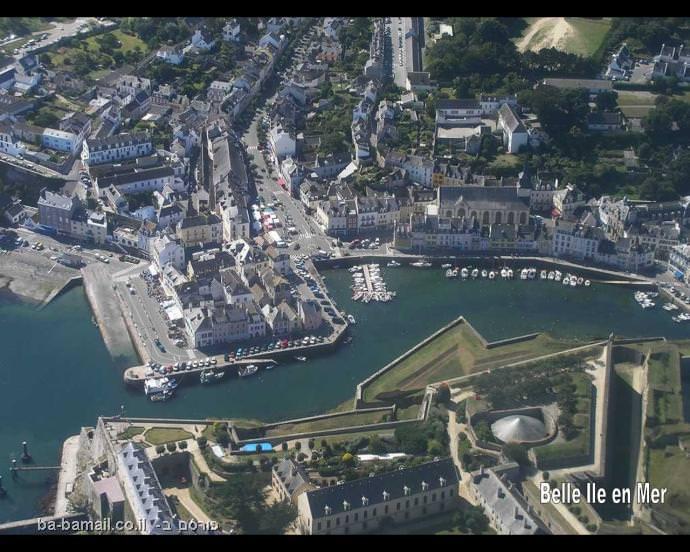 צרפת, צרפת מהאוויר,בל איל אן מאר, שאטו, מבצר