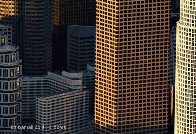 לוס אנג'לס במבט מהאוויר