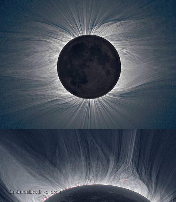 התפרצות על השמש - תמונות מרהיבות
