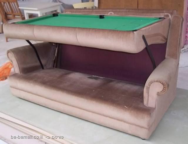 ספה, שולחן סנוקר, סנוקר