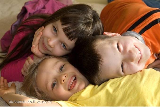 ילדים, ילדים שמחים, חיוכים