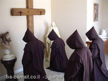 צום, דת, נזירים, צלב, נצרות