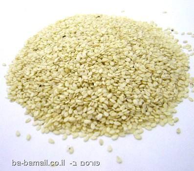 זרעים, גרעינים, בריא, בריאות, שומשום, שומשום גולמי