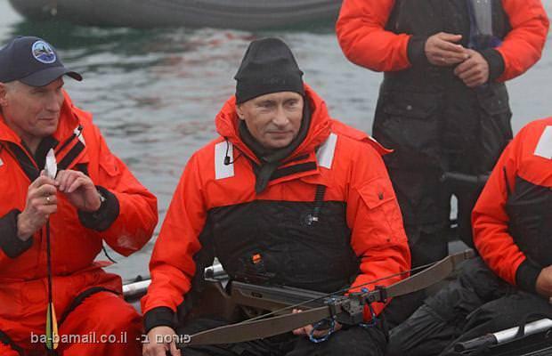 ולדימיר פוטין, רוסיה, ראש ממשלת רוסיה, ציד לווייתנים