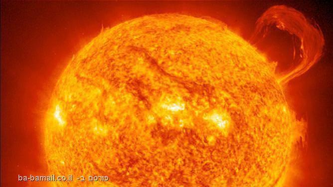 התפרצות שמש, שמש, התפרצות סולארית