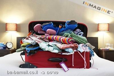 מזוודה פתוחה