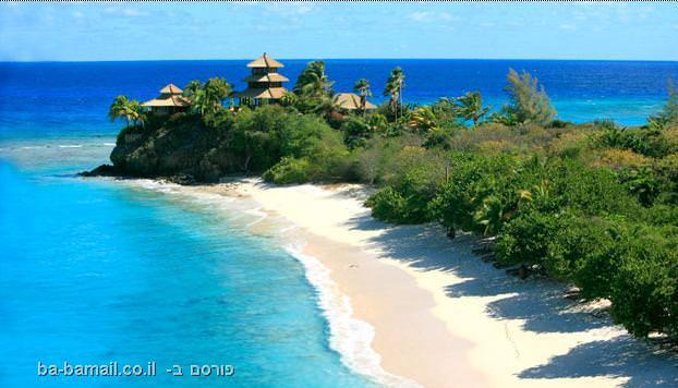 אי פרטי, אי להשכרה, חופשה באי, איי התעלה הבריטים, האי נקר