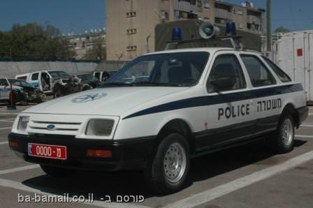 משטרה, משטרת ישראל, רכבי המשטרה של פעם, פורד סיירה