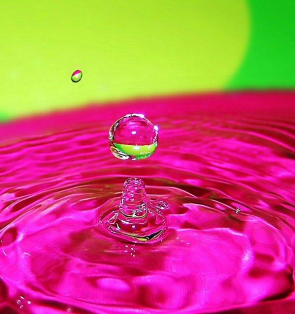 טיפות של מים