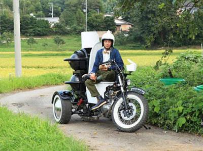 אופנוע ידידותי לקיבה - המצאה יפנית חדשה!