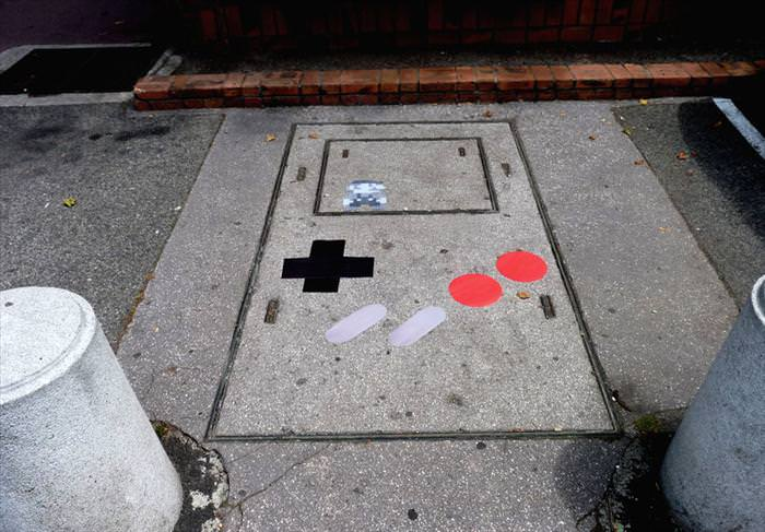 אין כמו ציורי רחוב בשילוב הומור בריא