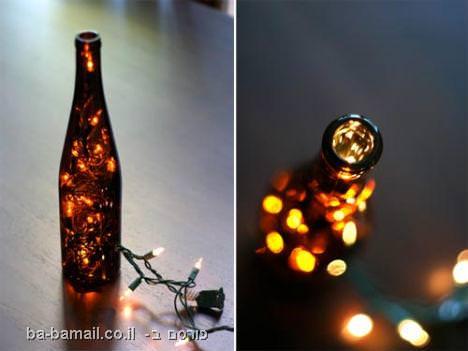 דברים מדהימים שאפשר לעשות מבקבוקים ישנים (בעריכה)