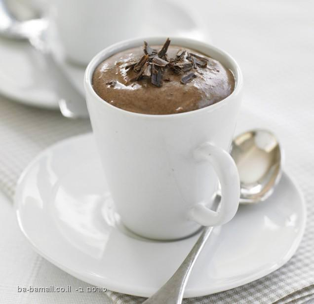 מתכון להכנת מוס שוקולד מפנק במיוחד