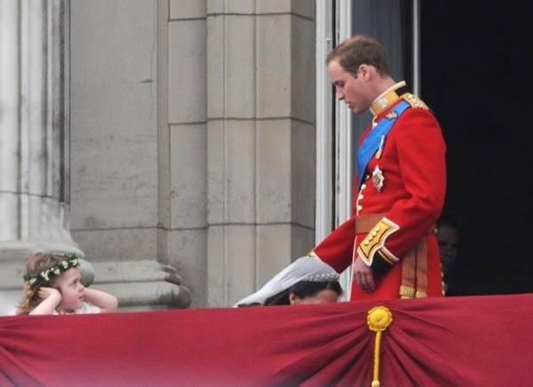 נסיך נסיך, אבל וויליאם יצא מלך - חזק!