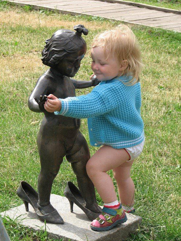 פסלים מעולם לא נראו חיים כ``כ - תמונות מקסימות!