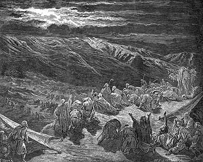 מעמד הר סיני - גוסטב דורה