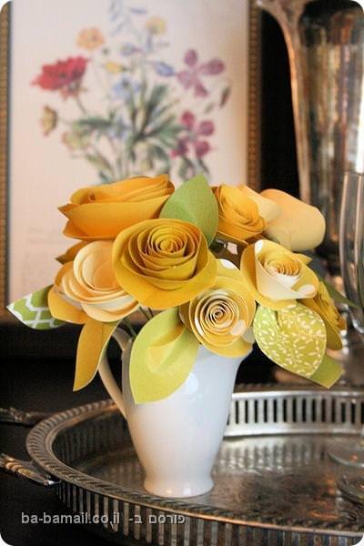 פרחים מקסימים מנייר (בעריכה)
