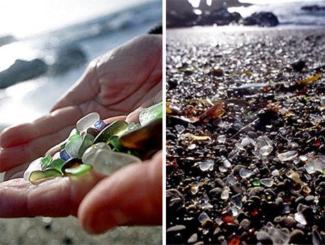 כשהטבע פותר את שהאדם עשה - חוף הזכוכית! (בעריכה)