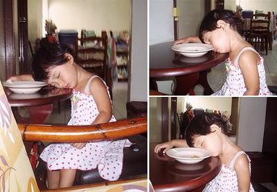עייפים לאכול - תינוקות וגורים נמים מאכלים! (בעריכה)