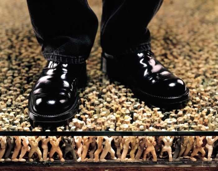 רצפה - אמנות קוריאנית