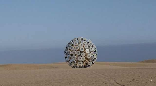 כדור במבוק גאוני לפינוי מוקשים