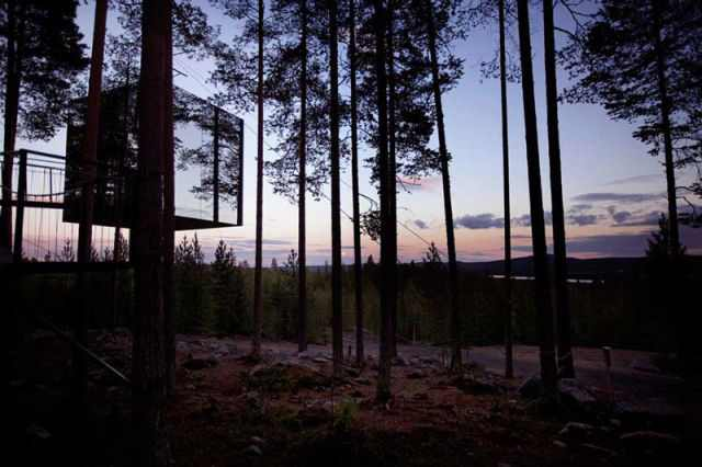 מלון ידידותי לסביבה ביער בשוודיה