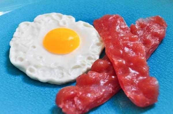 סבונים בצורת מזון מלאכותי