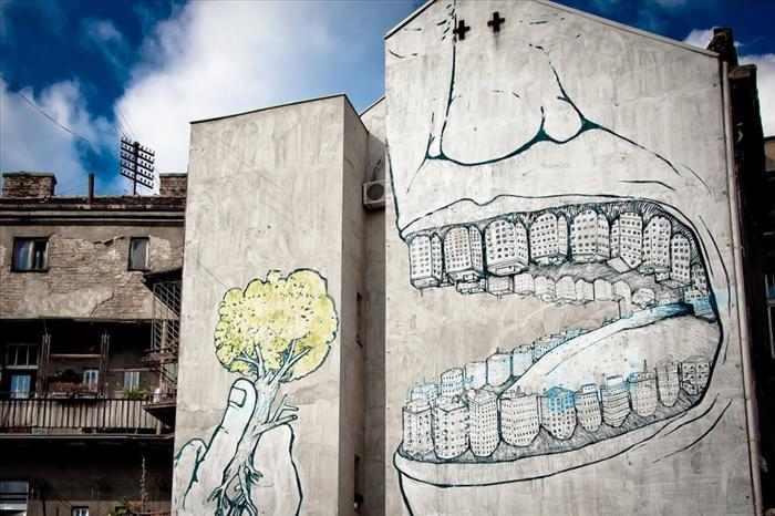 ציורי רחוב מדהימים