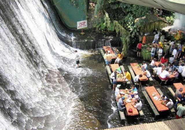 מסעדת המפל בפיליפינים
