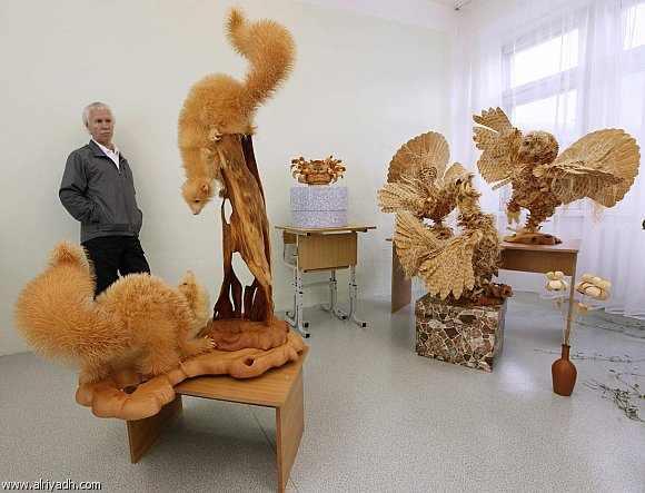 עבודות עץ מדהימות!