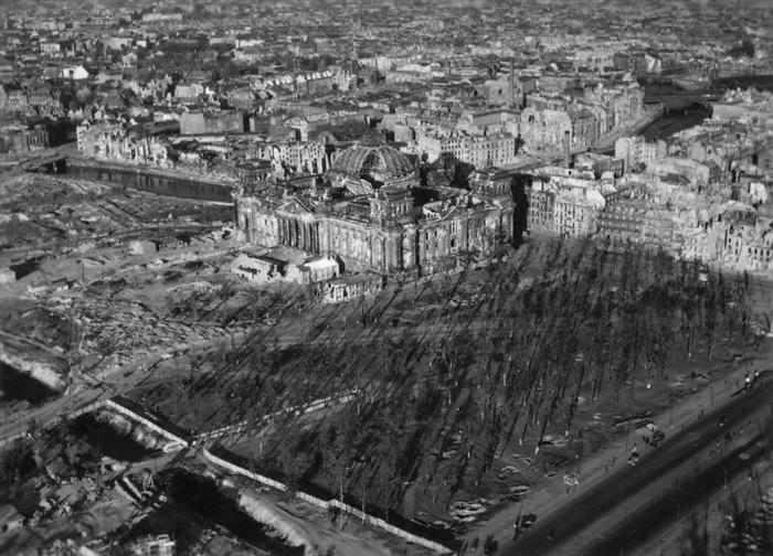 ברלין אחרי מלחמת העולם השנייה