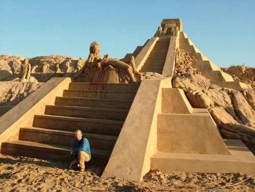 פסלי חול מרהיבים מכל העולם