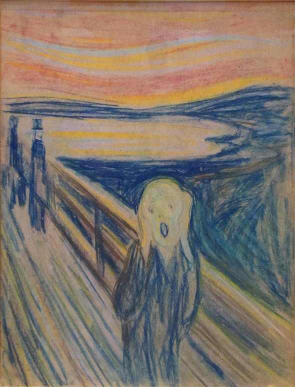 גרסאות לציור הצעקה